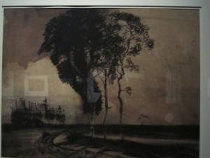 paysage aux trois arbres- V.Hugo
