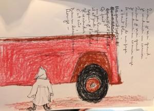 Quand je serai grand, je conduirai un camion, quand je serai grand je conduirai un camion rouge
