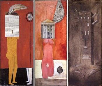 La femme-maison - Louis Bourgeois